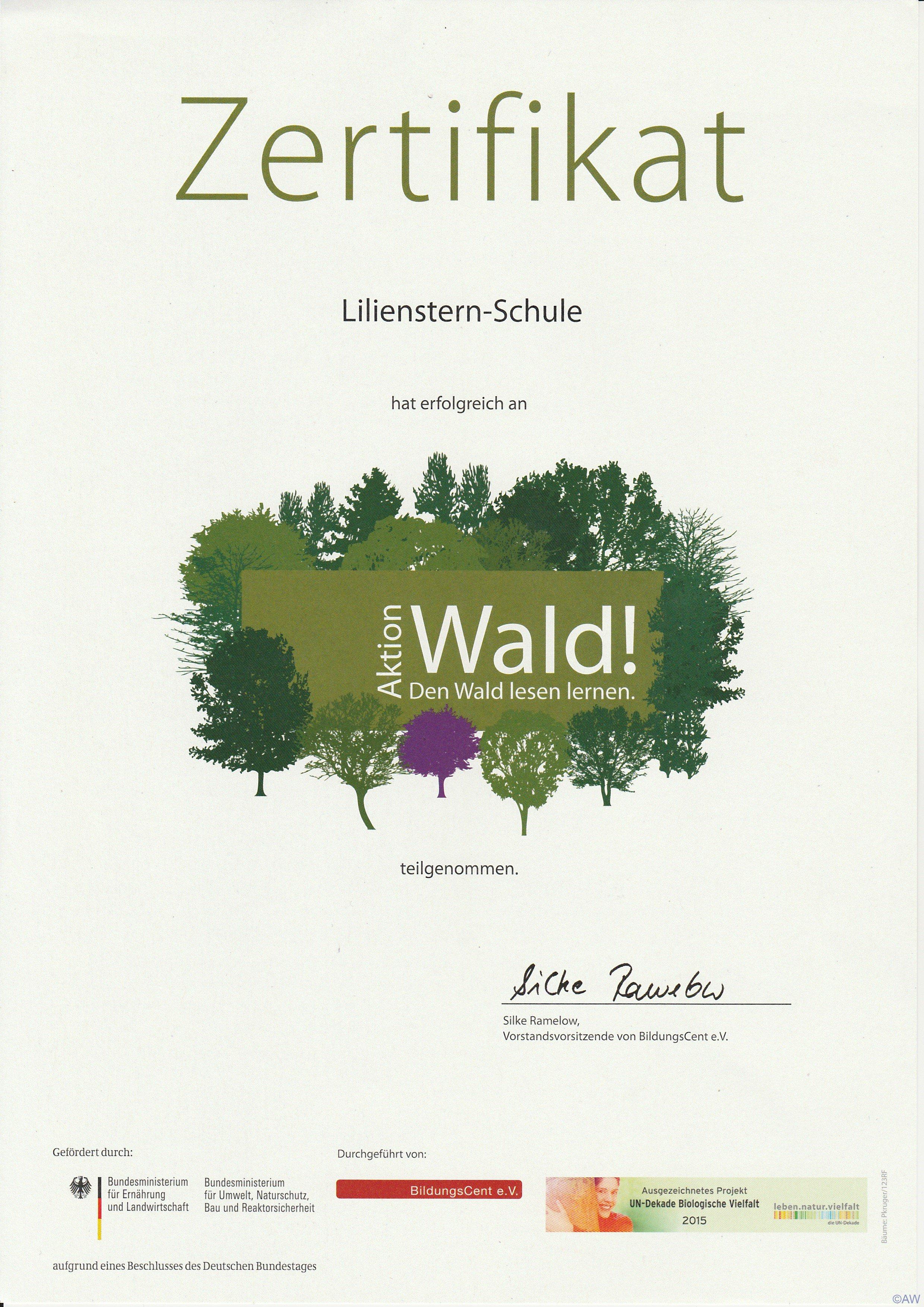 zertifikat-aktion-wald