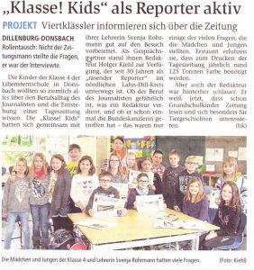 KlasseKids Zeitungsartikel_klein